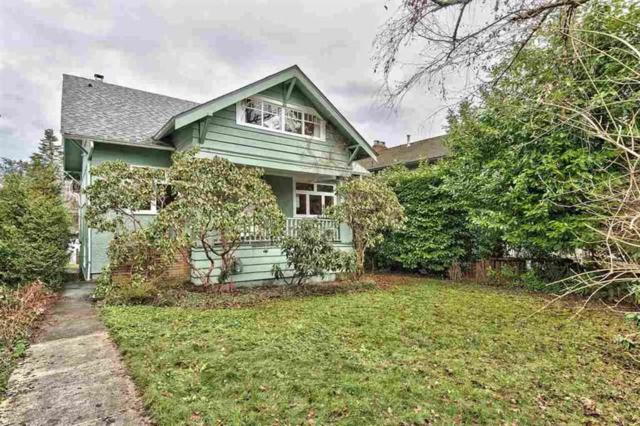 3811 W 14TH Avenue, Vancouver, BC V6R 2X1 (#R2191408) :: West One Real Estate Team