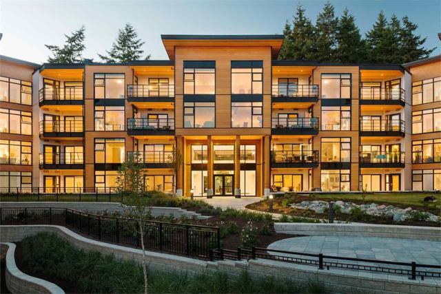 14855 Thrift Avenue #418, White Rock, BC V4B 2J6 (#R2197756) :: HomeLife Glenayre Realty