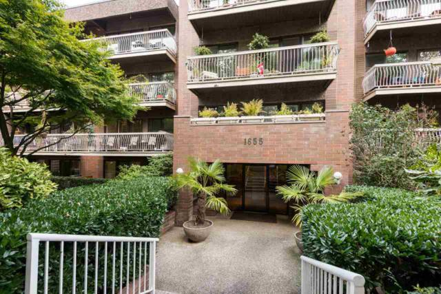 1655 Nelson Street #406, Vancouver, BC V6G 1M3 (#R2207774) :: West One Real Estate Team
