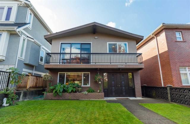 2640 E 5TH Avenue, Vancouver, BC V5M 1M9 (#R2214900) :: Re/Max Select Realty