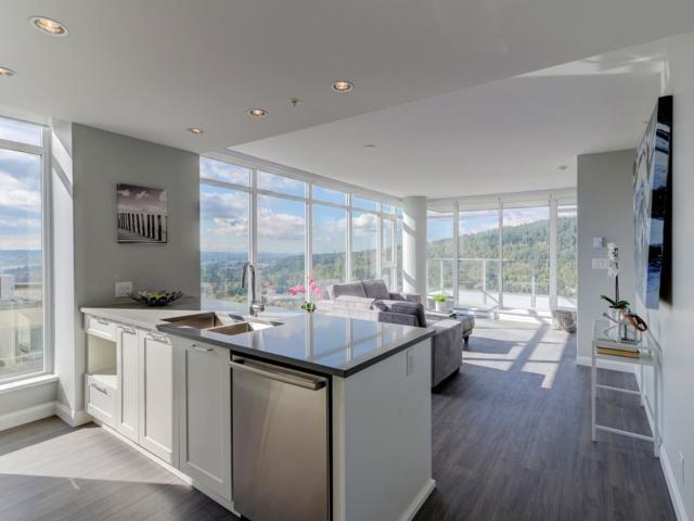 520 Como Lake Avenue #2202, Coquitlam, BC V3J 3M1 (#R2215084) :: HomeLife Glenayre Realty