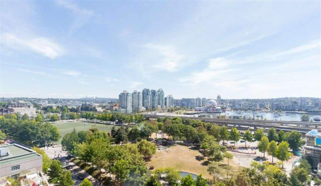 63 Keefer Place #1508, Vancouver, BC V6B 6N6 (#R2216139) :: Vallee Real Estate Group
