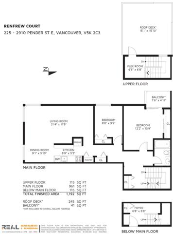 2910 E Pender Street #225, Vancouver, BC V5K 2C3 (#R2227281) :: Vallee Real Estate Group