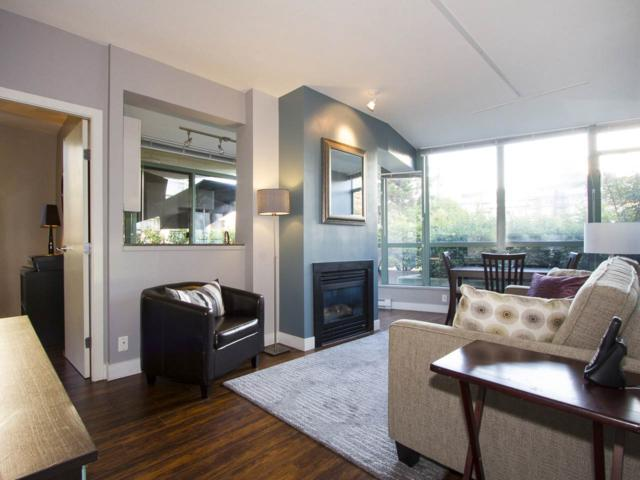 1238 Burrard Street #202, Vancouver, BC V6B 3M7 (#R2227392) :: Vallee Real Estate Group