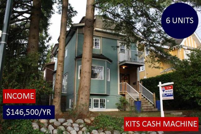 2393 W 6TH Avenue, Vancouver, BC V6K 1W1 (#R2227413) :: Vallee Real Estate Group