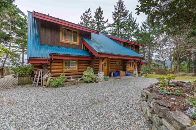 14140 Mixal Heights Road, Pender Harbour, BC V0N 1S1 (#R2231939) :: Linsey Hulls Real Estate