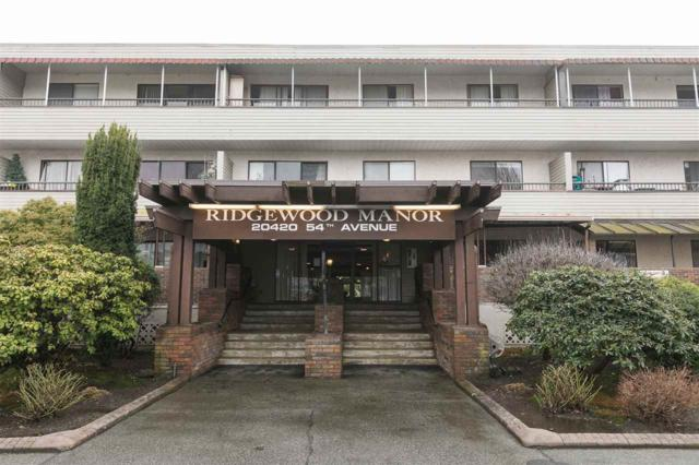 20420 54 Avenue #101, Langley, BC V3A 6N6 (#R2240758) :: Re/Max Select Realty