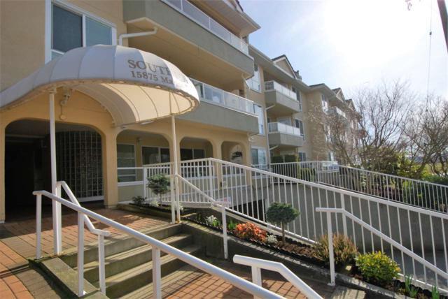 15875 Marine Drive #101, White Rock, BC V4B 5J2 (#R2241601) :: Homes Fraser Valley