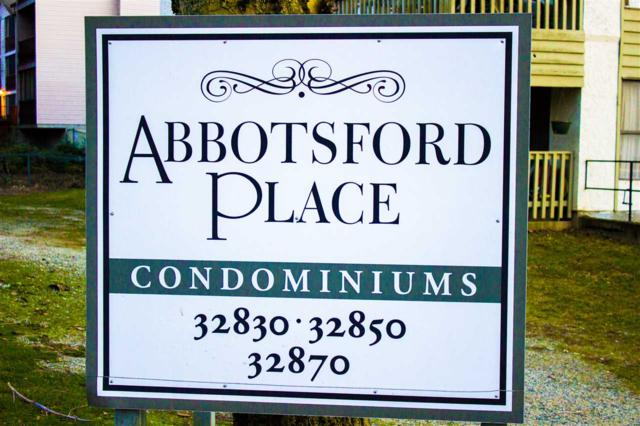 32830 George Ferguson Way #435, Abbotsford, BC V2S 7K1 (#R2241632) :: Titan Real Estate - Re/Max Little Oak Realty