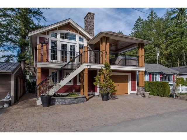 416 Maple Street, Cultus Lake, BC V2R 4Z3 (#R2249575) :: West One Real Estate Team