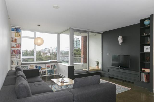221 Union Street #515, Vancouver, BC V6A 0B4 (#R2250491) :: Re/Max Select Realty