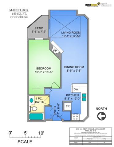 910 W 8TH Avenue #311, Vancouver, BC V5Z 1E5 (#R2258307) :: West One Real Estate Team