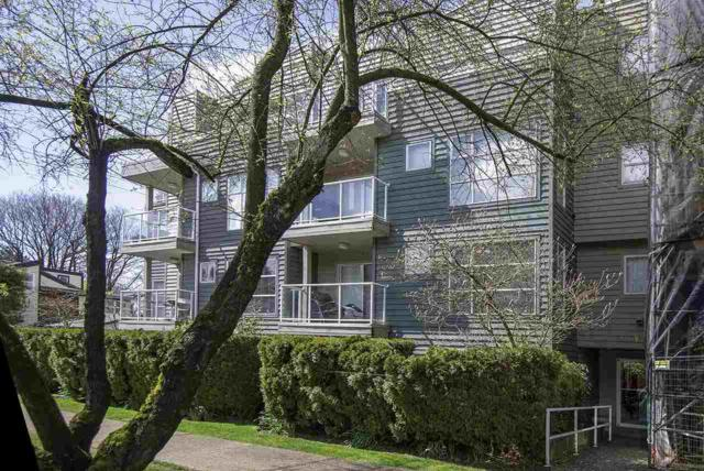 2815 Yew Street #102, Vancouver, BC V6K 3H6 (#R2258613) :: West One Real Estate Team