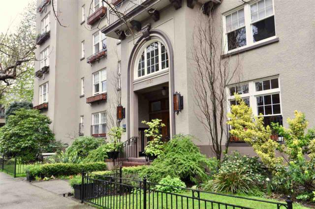 1101 Nicola Street #16, Vancouver, BC V6G 2E3 (#R2258698) :: West One Real Estate Team