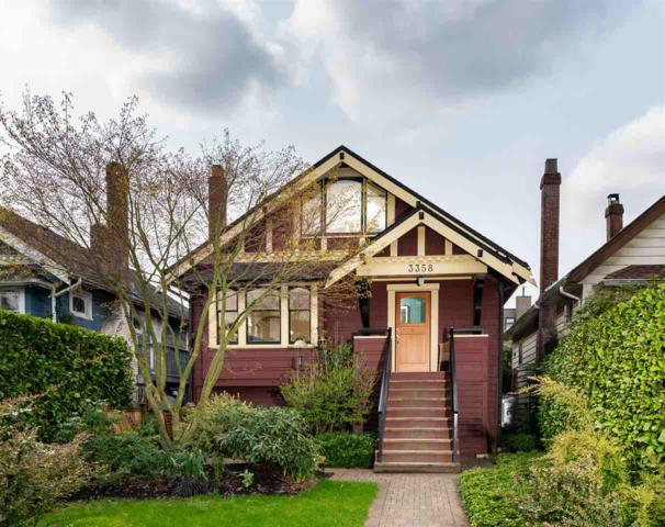 3358 W 8TH Avenue, Vancouver, BC V6R 1Y4 (#R2259162) :: West One Real Estate Team
