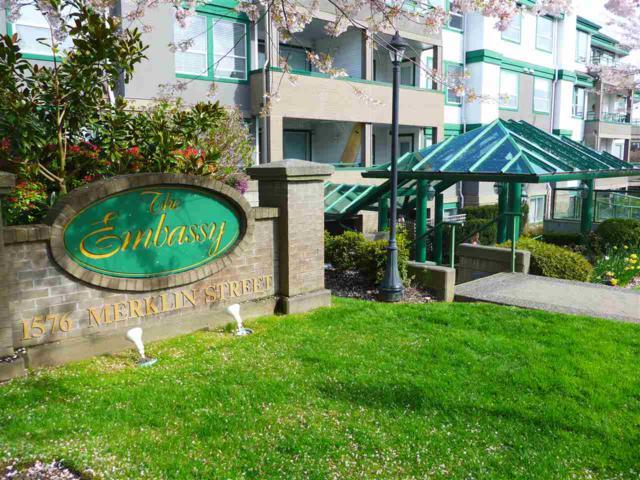 1576 Merklin Street #201, White Rock, BC V4B 5K2 (#R2259348) :: Vancouver House Finders