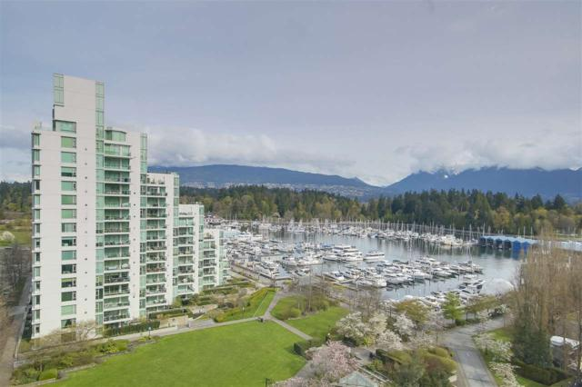 1650 Bayshore Drive #1201, Vancouver, BC V6G 3K2 (#R2259752) :: Vancouver House Finders