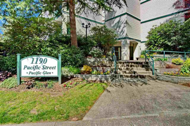 1190 Pacific Street #406, Coquitlam, BC V3B 6Z2 (#R2260047) :: Vancouver House Finders