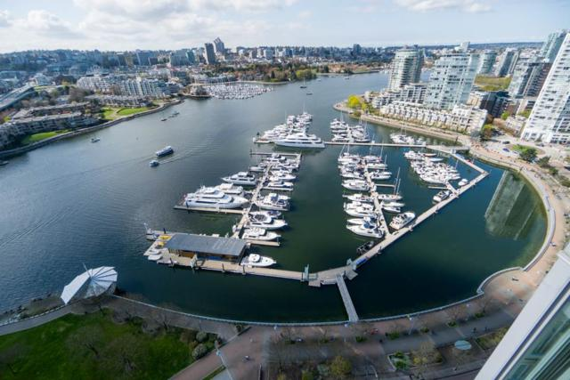 1033 Marinaside Crescent #2907, Vancouver, BC V6Z 3A3 (#R2260273) :: Vancouver House Finders