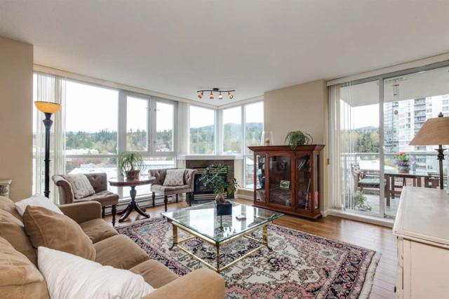 235 Guildford Way #607, Port Moody, BC V3H 5L8 (#R2260735) :: West One Real Estate Team
