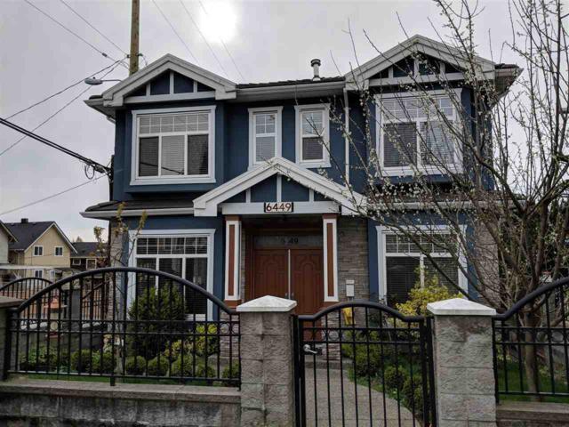 6449 St. George Street, Vancouver, BC V5W 2Y7 (#R2270732) :: TeamW Realty