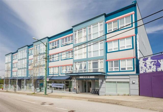 3423 E Hastings Street #306, Vancouver, BC V5K 2A5 (#R2271769) :: Re/Max Select Realty