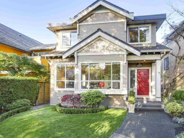 4407 W 7TH Avenue, Vancouver, BC V6R 1X1 (#R2290020) :: West One Real Estate Team