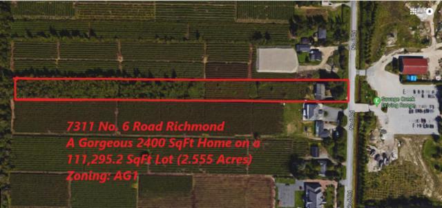 7311 No. 6 Road, Richmond, BC V6W 1C9 (#R2290503) :: West One Real Estate Team