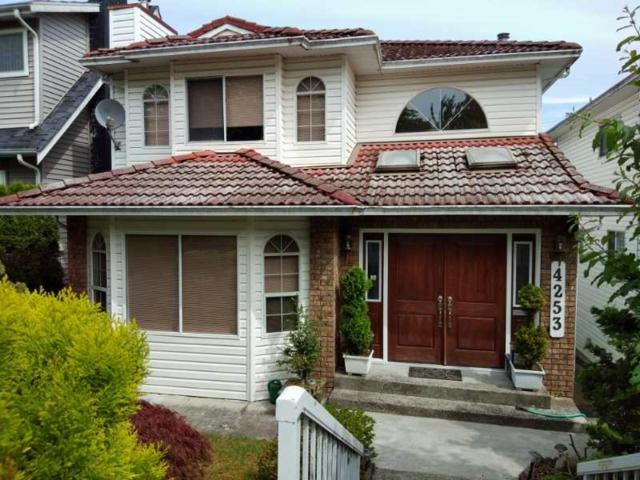 4253 Cambridge Street, Burnaby, BC V5C 1H1 (#R2290976) :: West One Real Estate Team