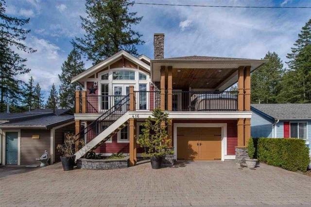 416 Maple Street, Cultus Lake, BC V2R 4Z3 (#R2295473) :: West One Real Estate Team