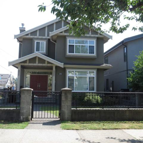 20 W 43RD Avenue, Vancouver, BC V5Y 2T5 (#R2296618) :: West One Real Estate Team
