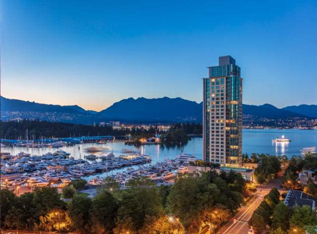 1277 Melville Street #1401, Vancouver, BC V6E 0A4 (#R2298044) :: West One Real Estate Team