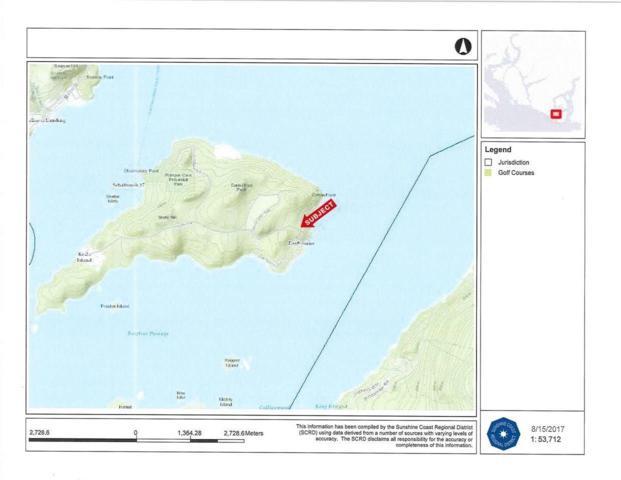 LOT 2 Gavin Road, Keats Island, BC V0N 1V0 (#R2301353) :: TeamW Realty