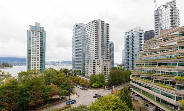 555 Jervis Street #706, Vancouver, BC V6E 4N1 (#R2307295) :: TeamW Realty