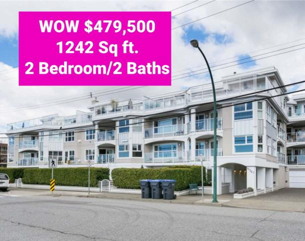 15367 Buena Vista Avenue #102, White Rock, BC V4B 1Y7 (#R2309033) :: Vancouver House Finders