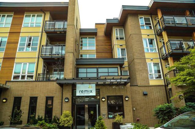 733 W 14TH Street #209, North Vancouver, BC V7M 0C6 (#R2313811) :: TeamW Realty