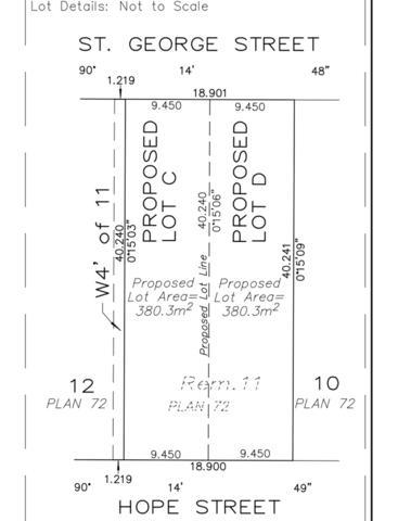 "2707 St George Street Lot ""D, Port Moody, BC V3H 2H1 (#R2314891) :: TeamW Realty"