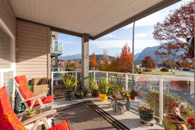 1203 Pemberton Avenue #103, Squamish, BC V8B 0J7 (#R2317794) :: West One Real Estate Team