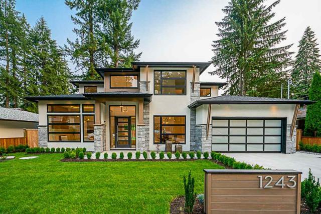 1243 Langdale Drive, North Vancouver, BC V7R 1Z8 (#R2319825) :: West One Real Estate Team