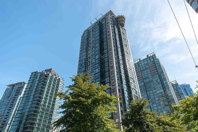 1331 Alberni Street #1607, Vancouver, BC V6E 4S1 (#R2322620) :: TeamW Realty