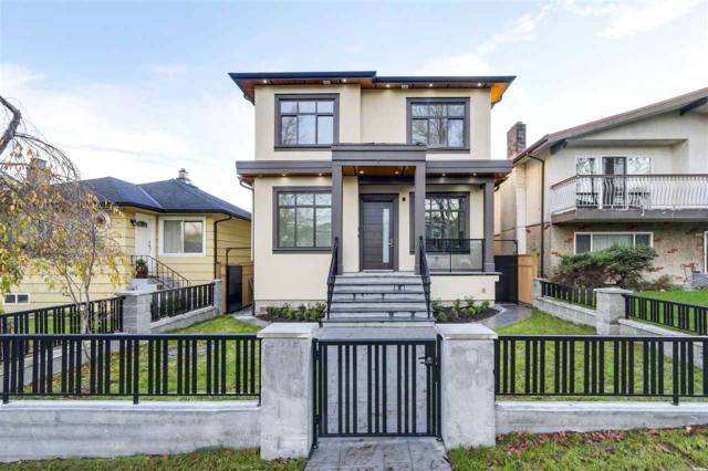 3454 E 4TH Avenue, Vancouver, BC V5M 1L9 (#R2322769) :: West One Real Estate Team