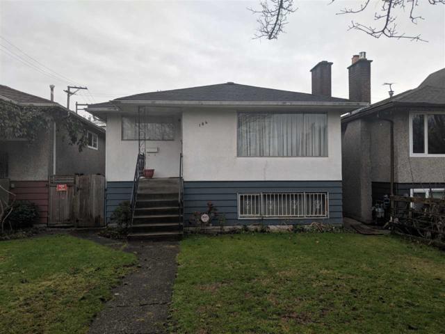184 E 19TH Avenue, Vancouver, BC V5V 1H9 (#R2332497) :: TeamW Realty
