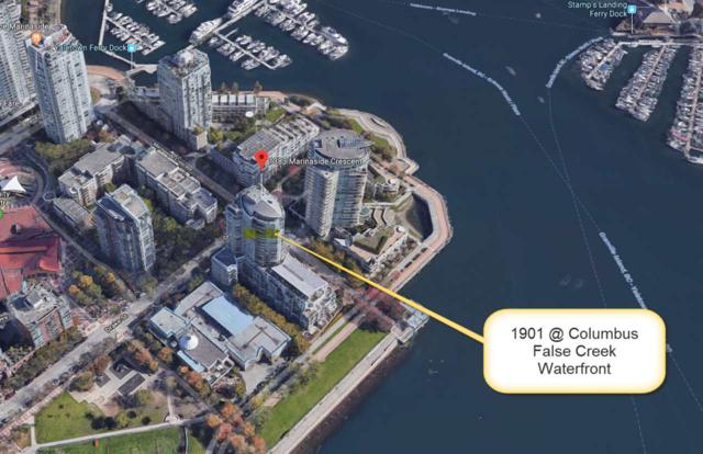 1383 Marinaside Crescent #1901, Vancouver, BC V6Z 2W9 (#R2333335) :: TeamW Realty