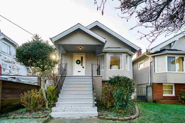 1140 E 19TH Avenue, Vancouver, BC V5V 1L1 (#R2333737) :: TeamW Realty