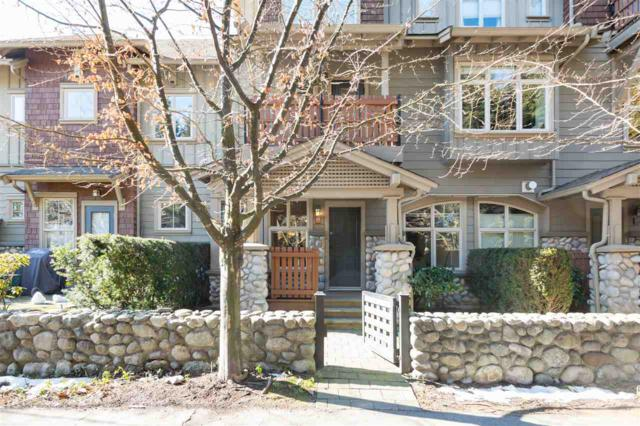 15 Sixth Avenue #135, New Westminster, BC V3L 1T1 (#R2345538) :: TeamW Realty