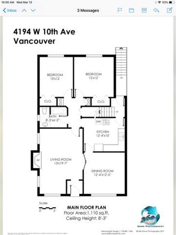 4194 W 10TH Avenue, Vancouver, BC V6R 2H3 (#R2347603) :: TeamW Realty