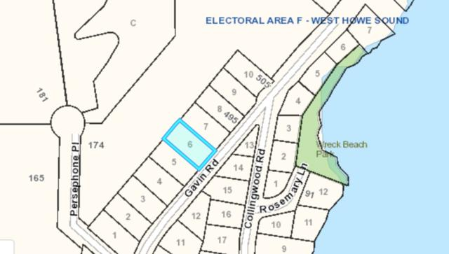 Lot 6 Gavin, Keats Island, BC 03057 (#R2348010) :: Royal LePage West Real Estate Services