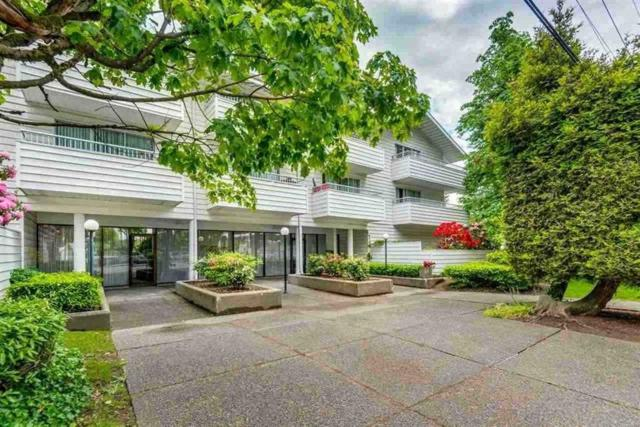 707 Eighth Street #107, New Westminster, BC V3M 3S6 (#R2350970) :: TeamW Realty