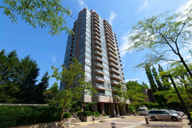 9633 Manchester Drive #1507, Burnaby, BC V3N 4Y9 (#R2353015) :: TeamW Realty