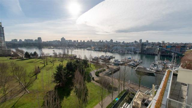 633 Kinghorne Mews #807, Vancouver, BC V6Z 3H3 (#R2360582) :: Vancouver Real Estate